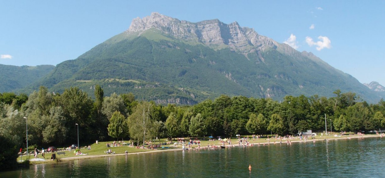 Camping Savoie Arclusaz in den Bauges am Lac de Carouge