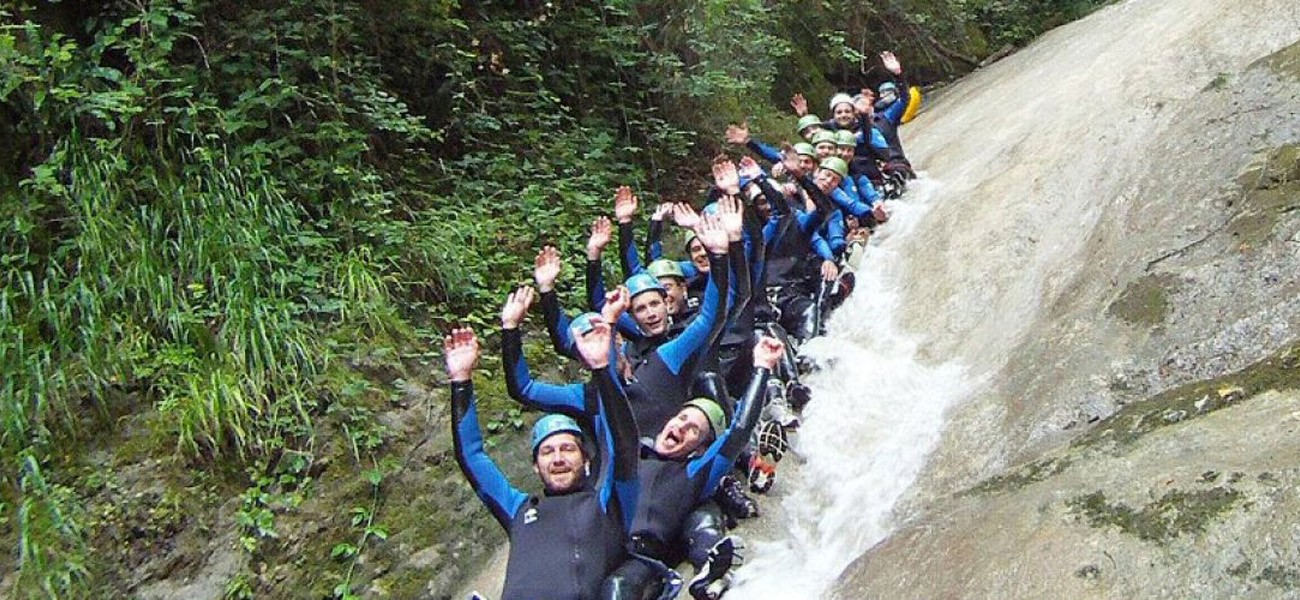 Activities at Camping du Lac de Carouge - Canyoning in Savoie